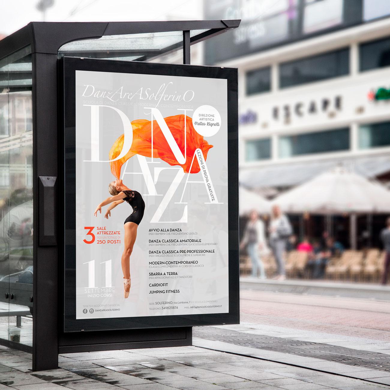 progettazione poster per affissione
