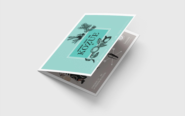 folder di presentazione prodotto horeca