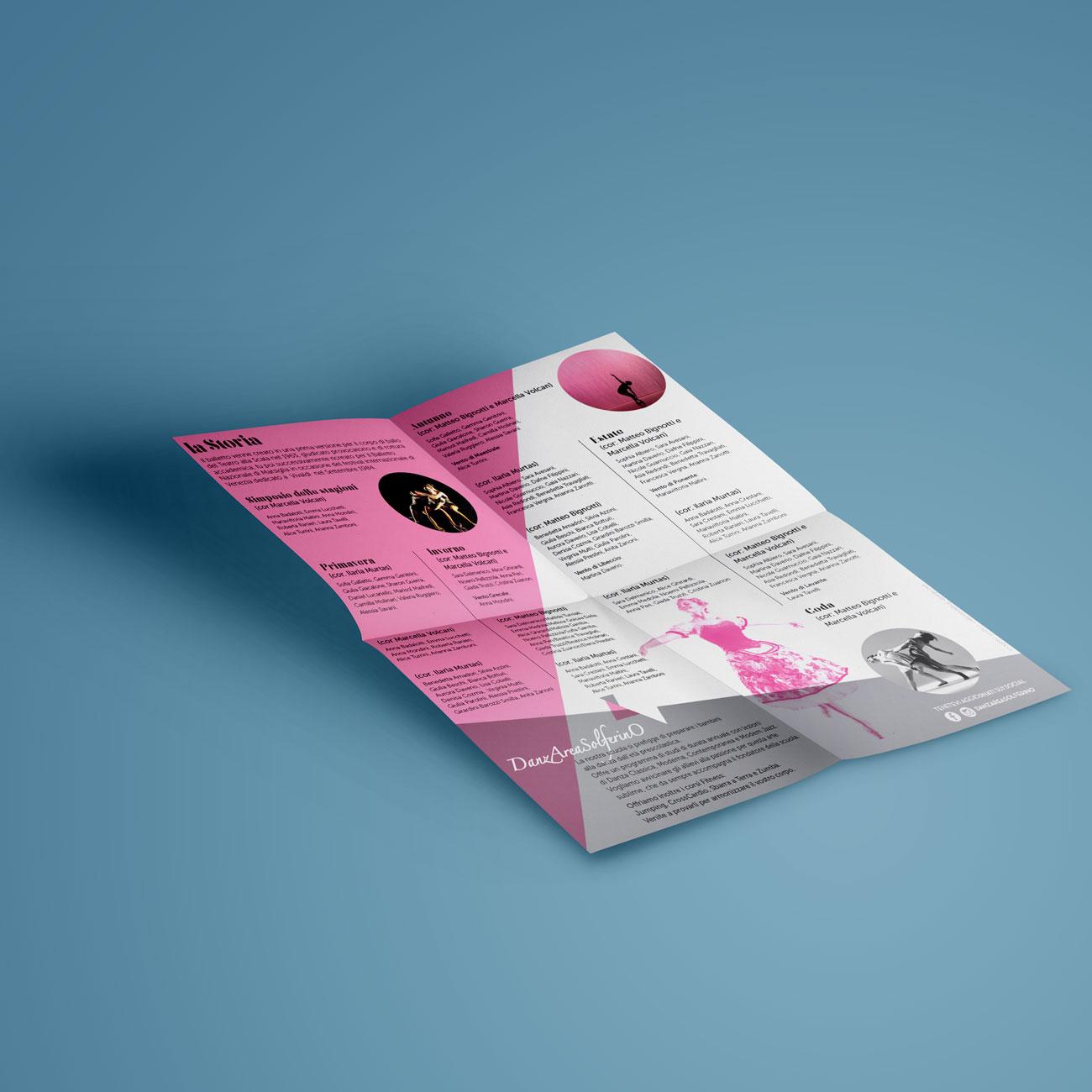 progettazione brochure e pieghevoli